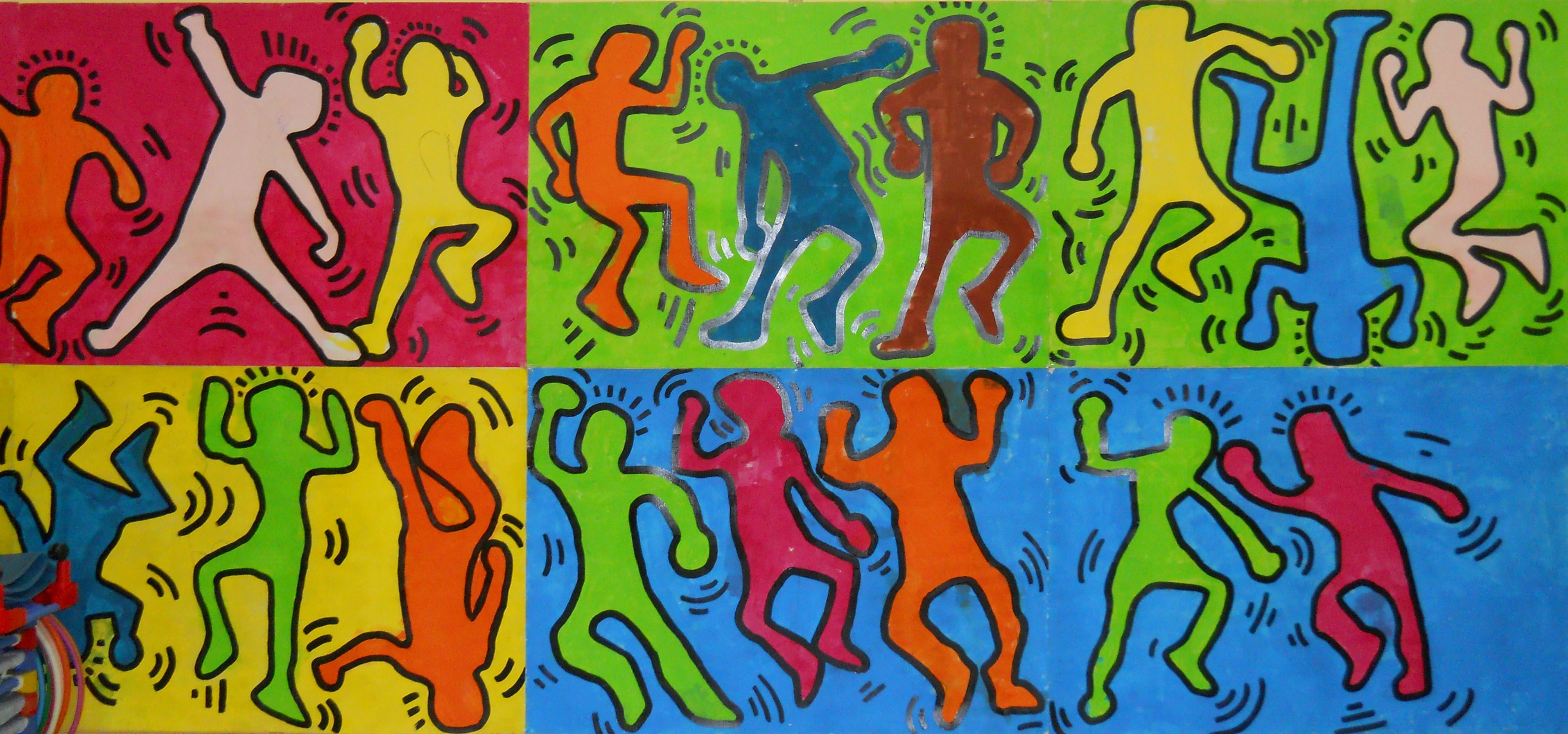 keith haring maternelle