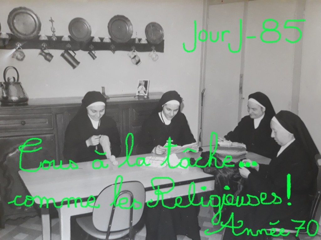 Photo des religieuses - Année 1970